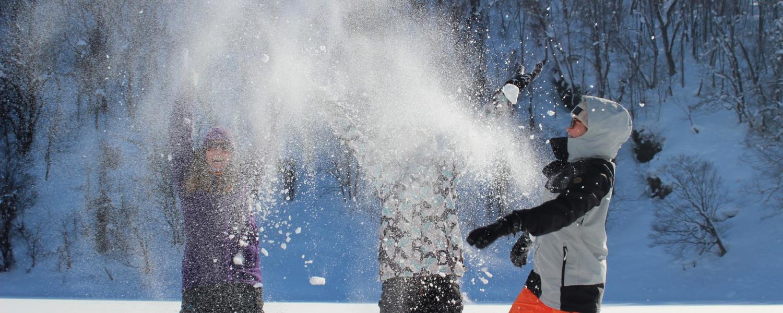 Snowshoeing 8098