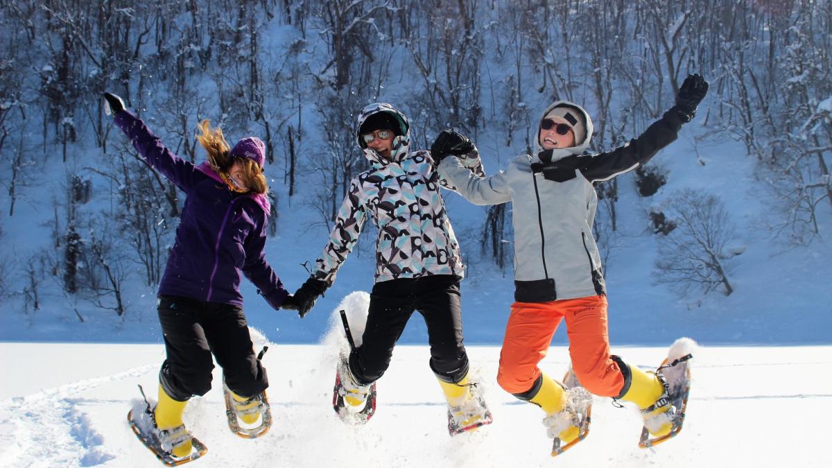 Snowshoeing 8090